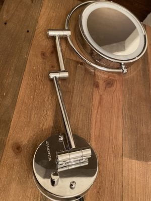 Ovente magnifying and illuminated makeup/vanity mirror for Sale in Phoenix, AZ