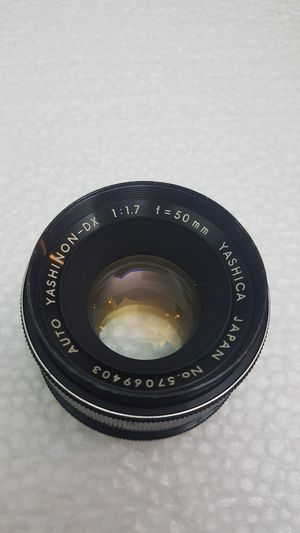 Yashica Yashinon-DX 50mm f1.7 M42 mount (screw mount) for Sale in Miami, FL