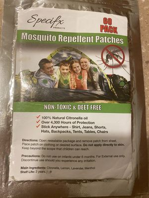 Natural mosquito stickers for Sale in Pensacola, FL