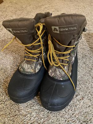 Men's rubber insulated boots for Sale in Marysville, WA