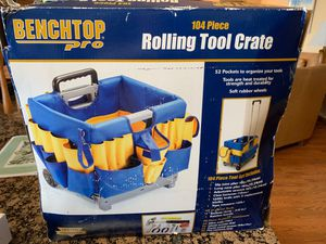 Rolling tool crate, includes over 100 pieces, never been used for Sale in Eastport, MI