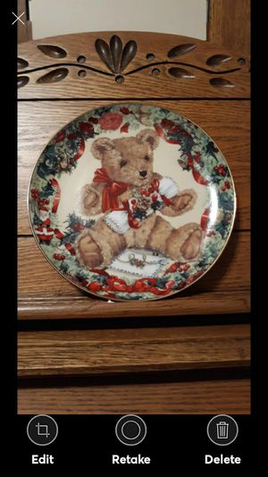 """FRANKLIN TEDDY""""S """"FIRST CHRISTMAS"""" PLATE for Sale in Lynchburg, VA"""