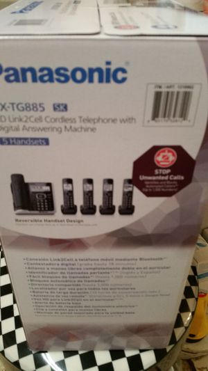 Brand New set of house phones 5 phones for Sale in SUNNY ISL BCH, FL