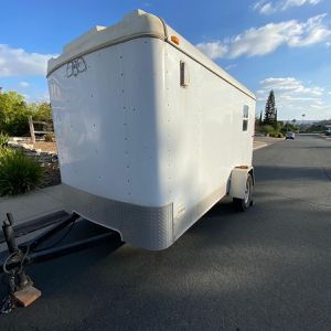 Utility Trailer Enclosed 6x12 for Sale in San Diego, CA