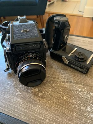 Mamiya M645 1000s with lens and grip for Sale in Washington, DC