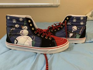 RARE Size 13 Nightmare Before Christmas Vans for Sale in Naples, FL