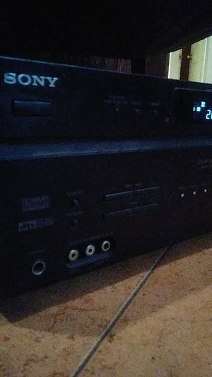 Sony STR-DE598 6.1 Channel AV Receiver - Black for Sale in Los Angeles, CA