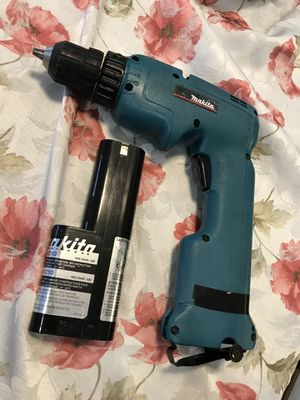 Makita cordless drill has battery no charger for Sale in Germantown, MD