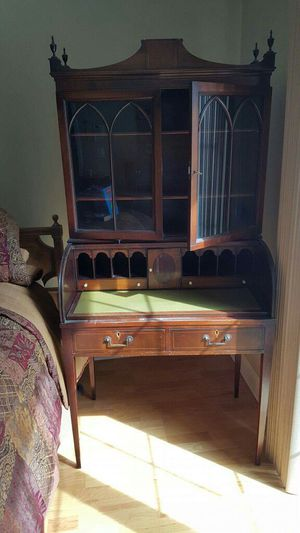 Antique Mahogany Rolltop Desk for Sale in North Reading, MA