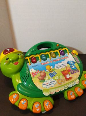 Vtech Touch And Teach Turtle for Sale in Tehachapi, CA