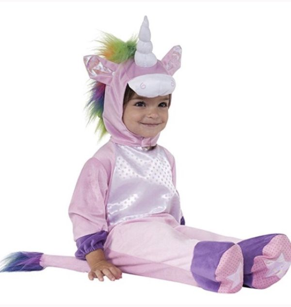 Unicorn Halloween party costume for 0-6 months