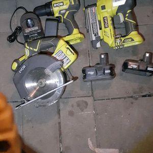 Ryobi 18v Power Tool Set for Sale in Hayward, CA