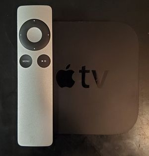 Apple Tv with Remote and HDMI Cable for Sale in Houston, TX