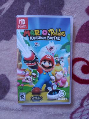 Nintendo Switch mario & Rabbids for Sale in Anaheim, CA