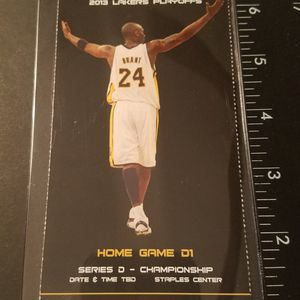 KOBE LAKERS ticket for Sale in Cypress, CA