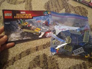Lego Marvel Superheroes Set 76017 for Sale in Tucson, AZ