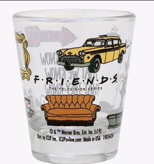 FRIENDS the tv series shot glass (New) for Sale in Duncanville, TX