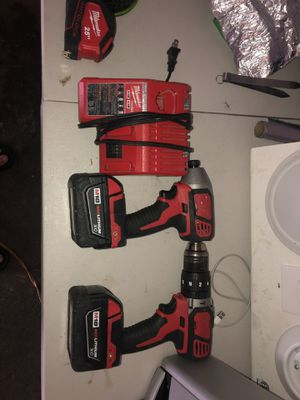 MILWAUKEE HAMMER AND IMPACT DRILL for Sale in Lawrence, MA
