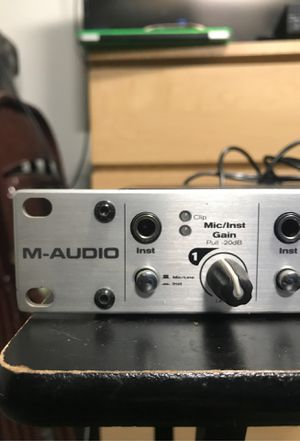 M-Audio Fast Track Ultra 8R for Sale in Los Angeles, CA