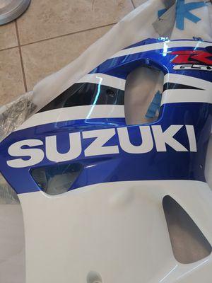 New motorcycle fairings set 01-03 Suzuki Gsxr 600/750 for Sale in Ruskin, FL