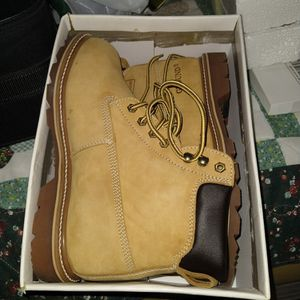 American Design Ground Leather Work Boots for Sale in Pompano Beach, FL