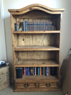 Solid Wood Book Shelf for Sale in Santa Maria, CA