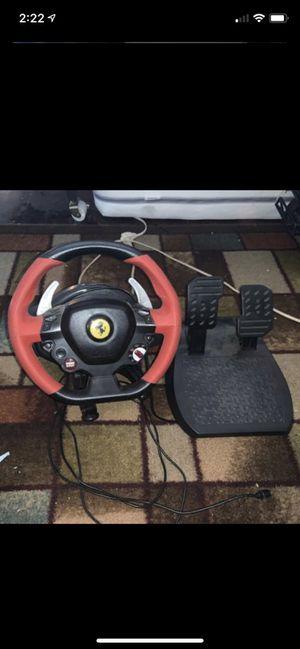 Xbox one Ferrari steering wheel for Sale in Fall River, MA