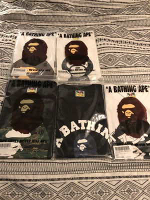 BAPE SHIRTS SIZE XL DEAD STOCK for Sale in Santa Ana, CA