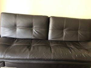 Leather sofa for Sale in Atlanta, GA