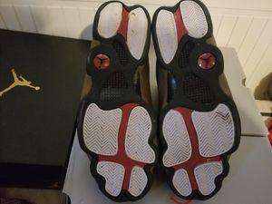 Jordan 13 olive/black/red for Sale in Tampa, FL