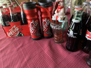 Coca Cola Antique bottles and cups for Sale in San Antonio, TX