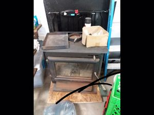 Wood burner and pipe for Sale in Horner, WV