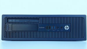 Desktop Computer: HP ProDesk 600 SFF, i5, 8GB RAM, 500GB HDD, Win10/Ubuntu for Sale in Rialto, CA
