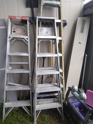6 ft ladders for Sale in Port Richey, FL