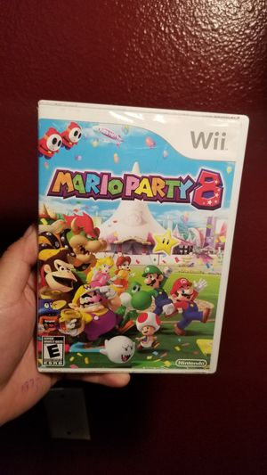 Mario party 8 Wii for Sale in Temecula, CA