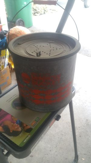 Old fishing minnow bucket for Sale in Washington, IL