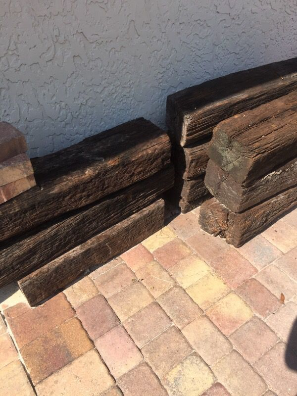 Free Railroad Ties Used For Border For Sale In Tampa Fl