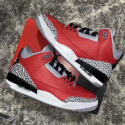 Jordan 3 Fire Red Brand New Size 9 Men for Sale in Mount Rainier,  MD