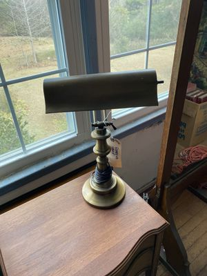 Antique Brass Desk Lamp for Sale in Conyers, GA