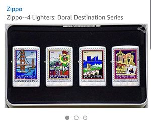 Zippo Lighters collector set for Sale in Dallas, TX