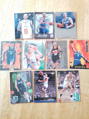 Jason Kidd Mavericks Suns Knicks NBA basketball cards for Sale in Gresham, OR