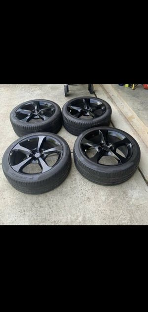 """4 rims and tirers 20""""×8"""" for Sale in Germantown, MD"""