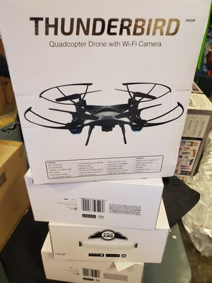 Brand new thunderbird quadcopter drone with Wi-Fi camera $29 each for Sale in Riverside, CA