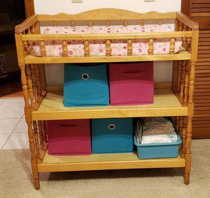 Oak Changing table for Sale in Eustis, FL