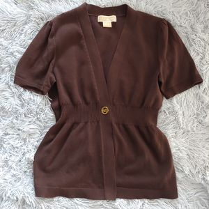 Michael Kors logo button front cardigan for Sale in Columbus, OH
