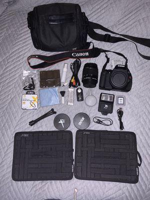 Canon Rebel t3i Camera and accessories for Sale in Costa Mesa, CA