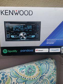 Stereo Kenwood Nuebo $120 for Sale in Pomona,  CA