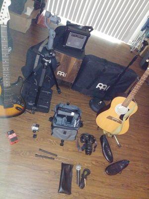 Live instruments & Digital camera set up for Sale in Jonesboro, GA