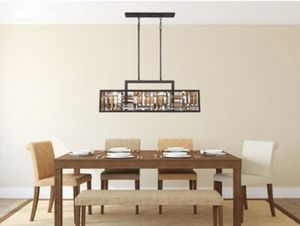 Quoizel island kitchen light for Sale in Charlotte, NC