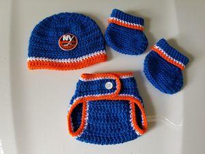 Crochet Baby Boy New York Islanders Hockey for Sale in Plant City, FL
